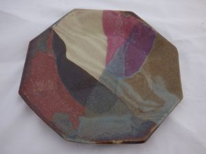 Dave's Ceramic Art Octagon Plate