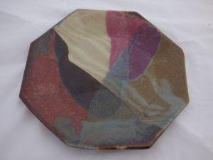 Dave's Ceramic Art Octagon Plate