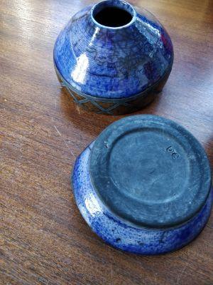 repaired ceramic vase